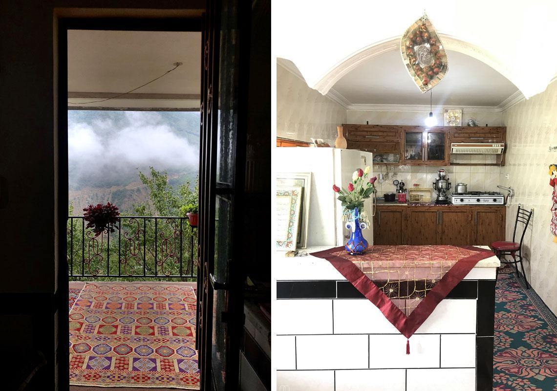 ویلا و کلبه اقامتی بالاکایلو -روستای بالاکایلو