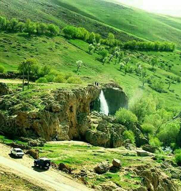 آبشارهای دو قلو قینرجه