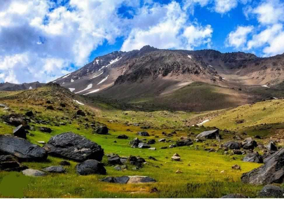 کوه سبلان (ساوالان) کجاست