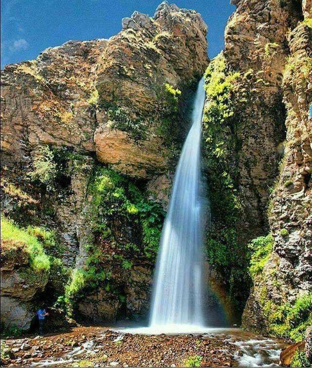 آبشار آق بلاغ