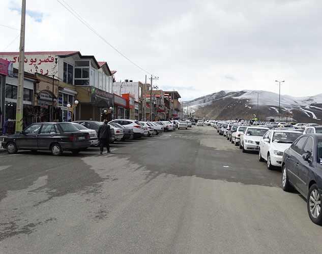 بازارچه مرزی شهر سرو ارومیه