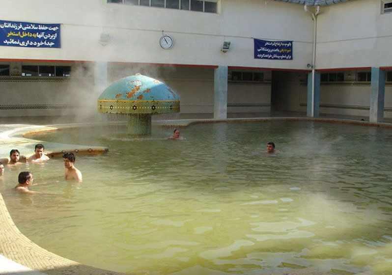 چشمه آب معدنی بش باجیلار سرعین