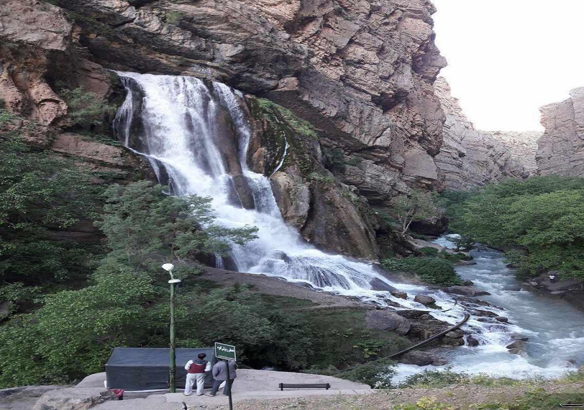 آبشار آب سفید الیگودرز کجاست؟