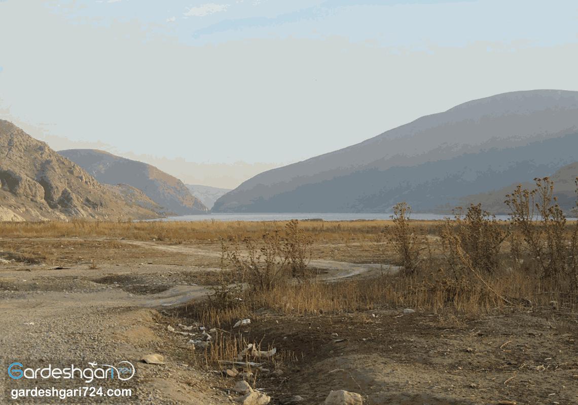 دریاچه سد ماملو، منطقه زیبای گردشگری