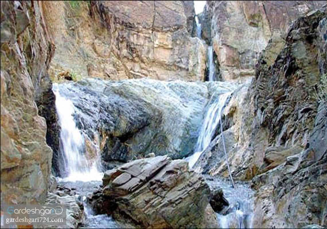 گلکان و تاسکان آبشار های منحصر به فرد سیستان و بلوچستان