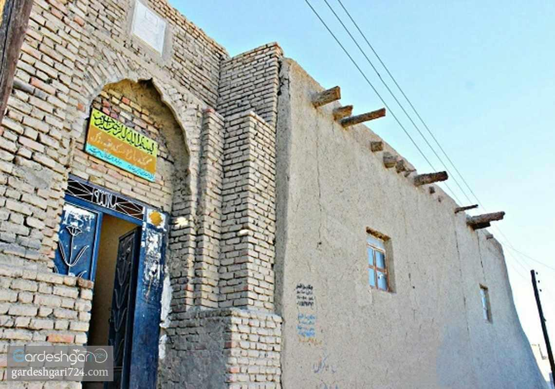 مسجد جامع دزک (سراوان)