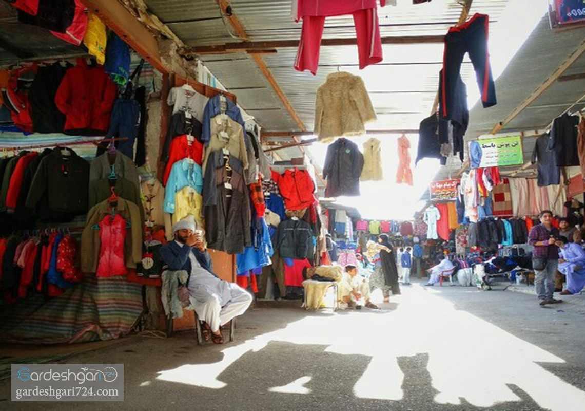 بازار قدیمی چهار راه رسولی زاهدان