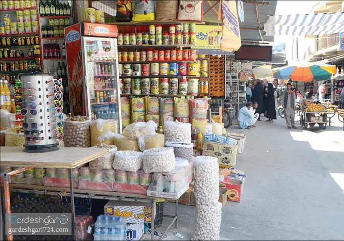 بازار چهارراه رسولی زاهدان