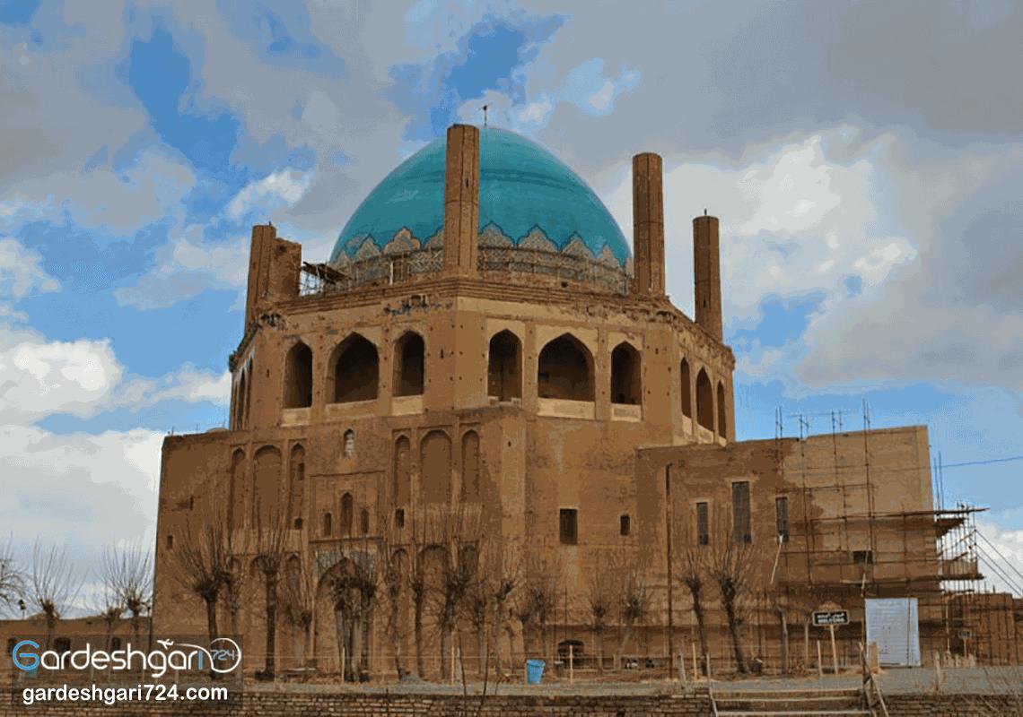 گنبد سلطانیه، یادگار ارزشمند ایلخانیان و بزرگترین گنبد آجری جهان
