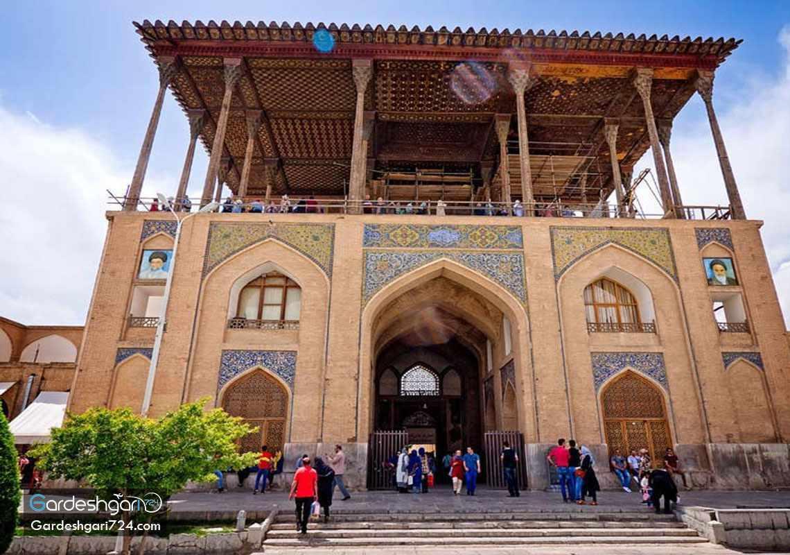 کاخ عالی قاپو اصفهان، شاهکاری در قلب نقش جهان