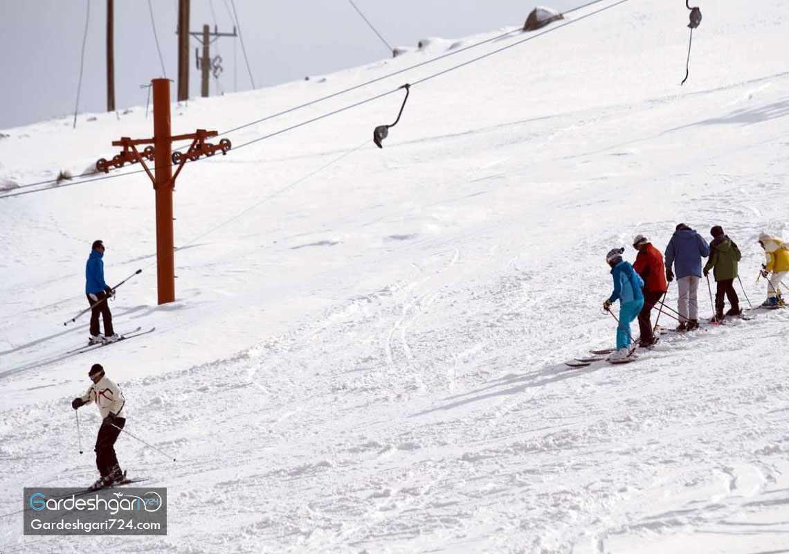پیست اسکی شازند