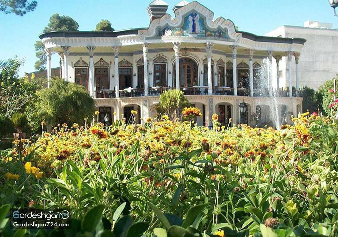 عمارت و باغ شاپوری شیراز
