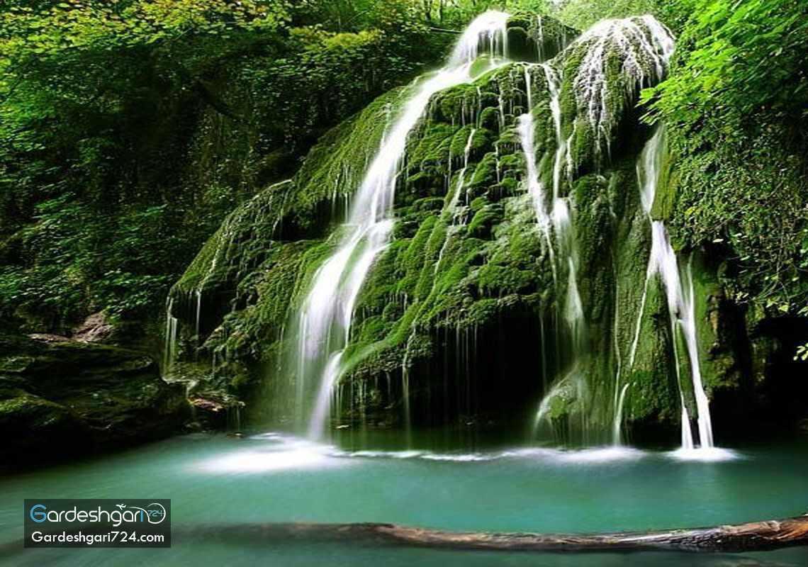 آبشار کبودوال، بزرگترین آبشار خزه ای جهان