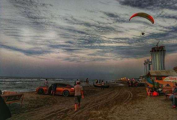 پلاژ ساحلی متل قو