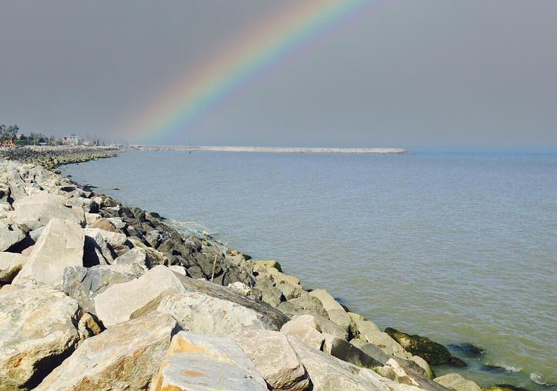 اسکله ساحلی بابلسر