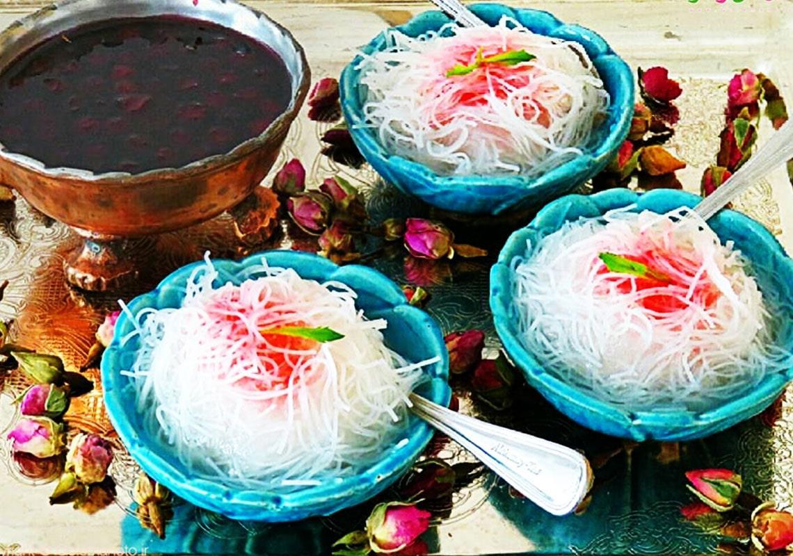 سوغات شیراز فالوده شیرازی