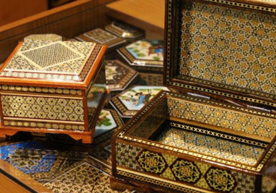 خاتم کاری سوغات شیراز