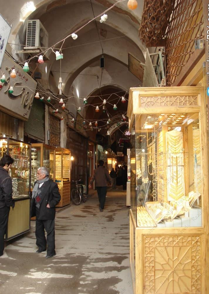بازار زرگری (طلافروشان) یزد