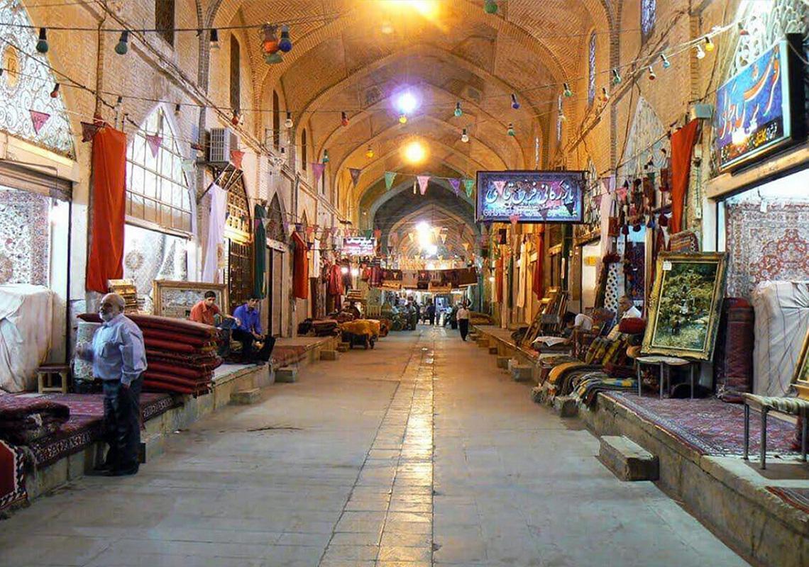 عکسی از بازار سرشور مشهد