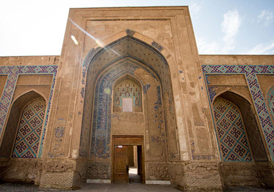 نمایی از مسجد جامع سنگان