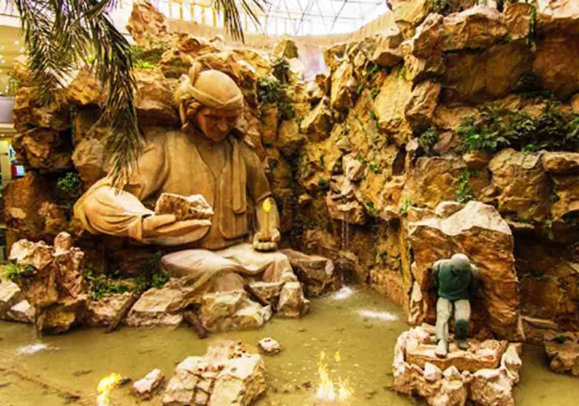 مرکز خرید آرمان یکی زیباترین مراکز خرید مشهد