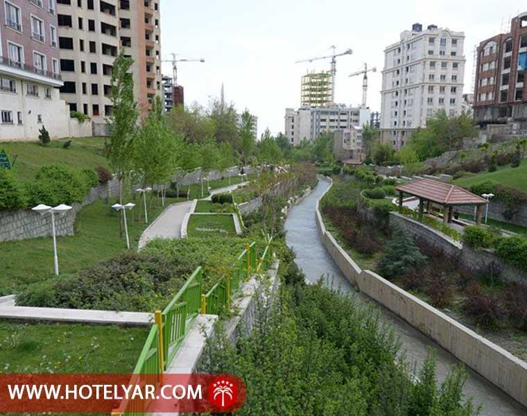 بوستان های محله ولنجک تهران
