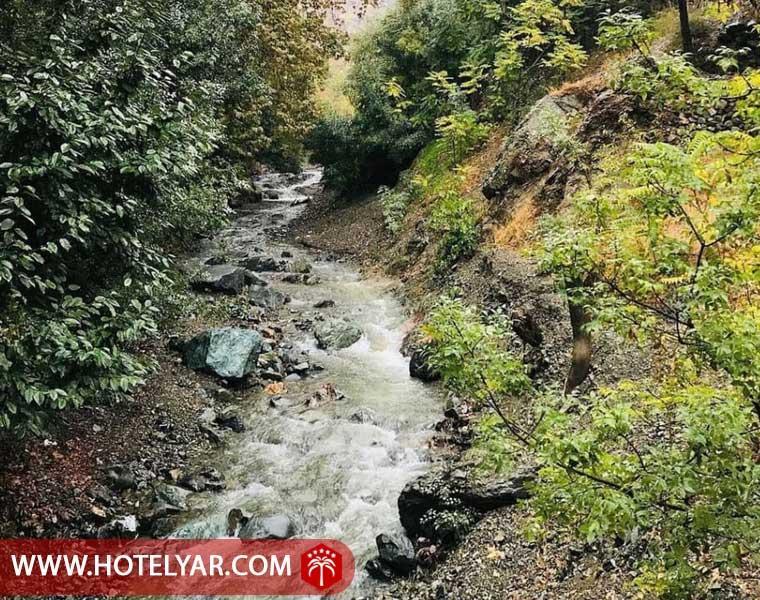 قاب زیبا از طبیعت بکر درکه تهران
