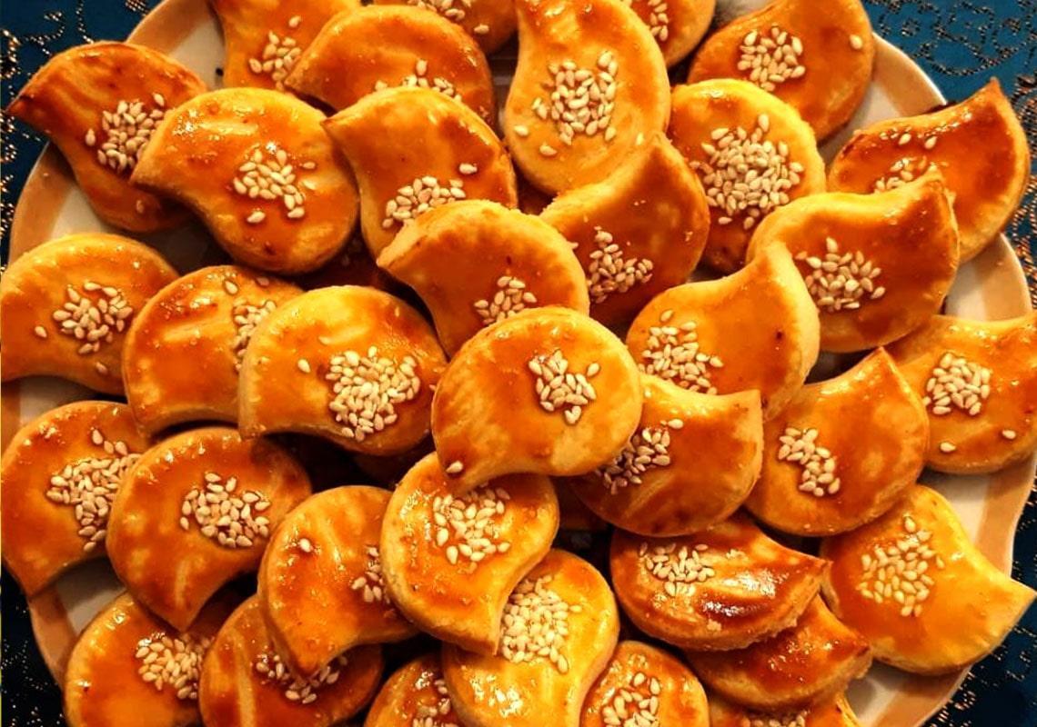 کیک شربتی قزوین - سوغات قزوین