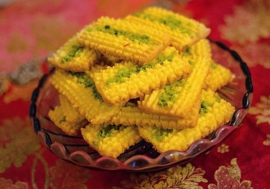 نان چرخی خوشمزه استان قزوین