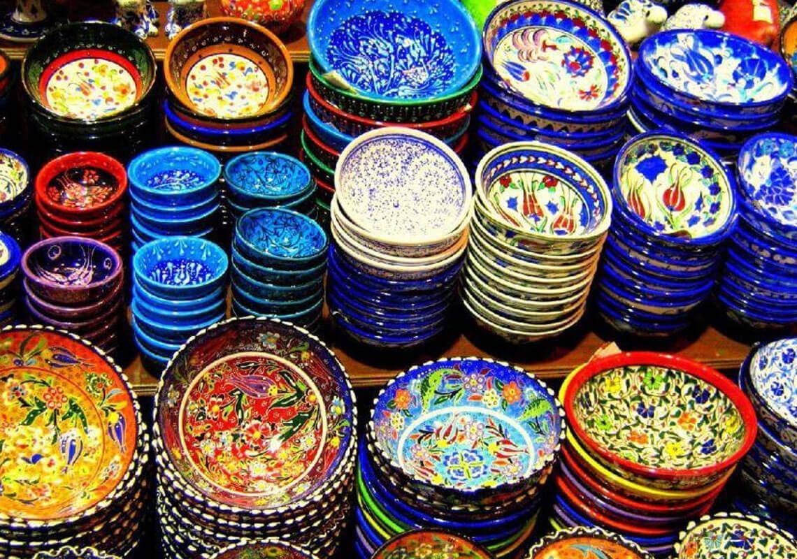 ظروف سفالی سوغاتی تهران